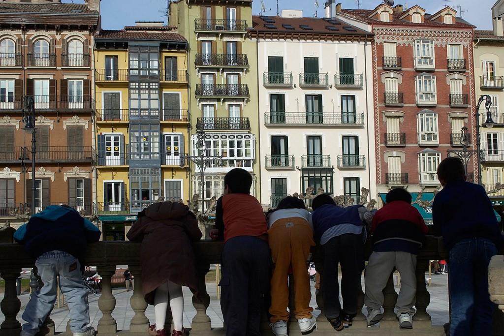 Kiosko de la Plaza del Castillo. Foto cedida por el Ayuntamiento de Pamplona.