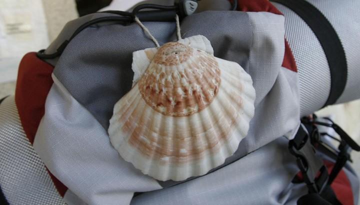 Peregrino. Foto cedida por el Departamento de Turismo del Gobierno de Navarra.